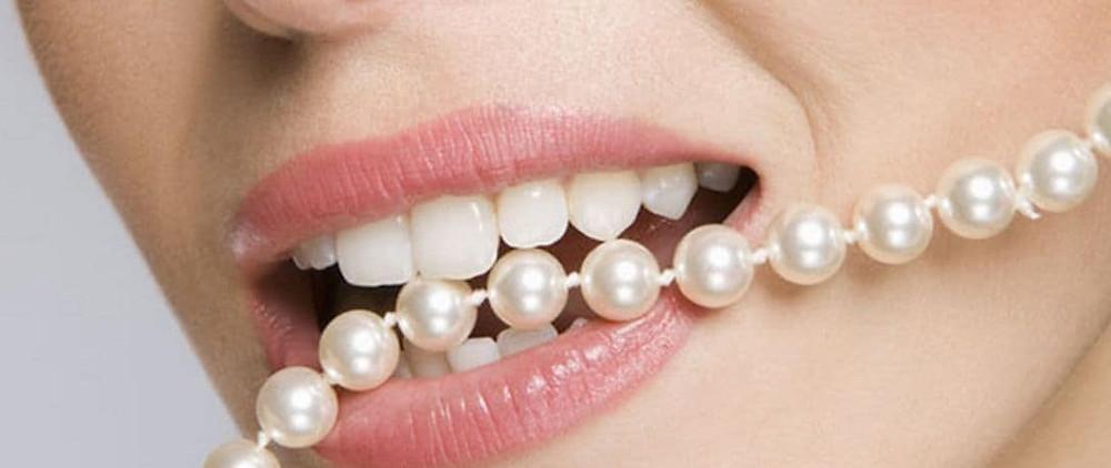 detectar perlas falsas dientes