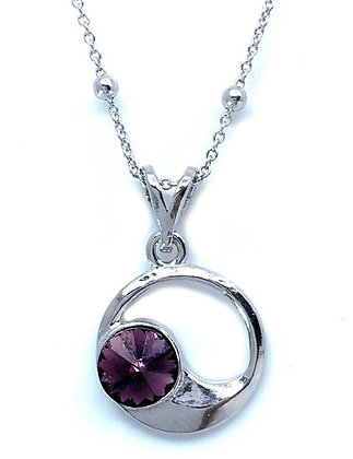 Collar Amethyst Moon