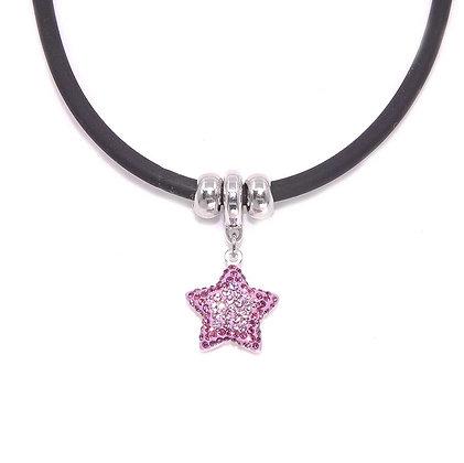 Collar Amethyst Star