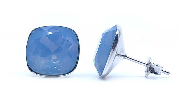 Square Blue Opal