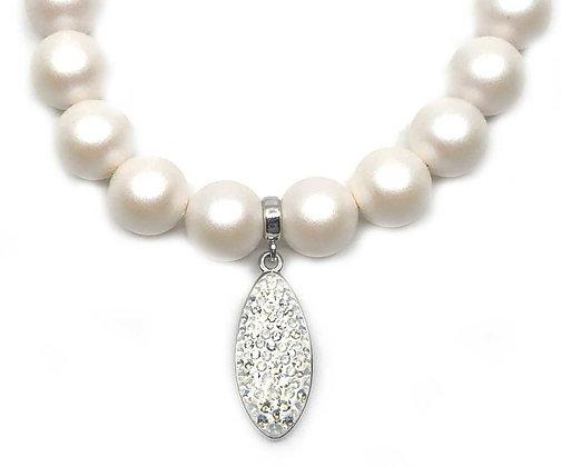 Collar Petal pearls