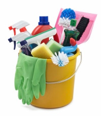 Clear Clutter & Update Your Cleaning Tools Too