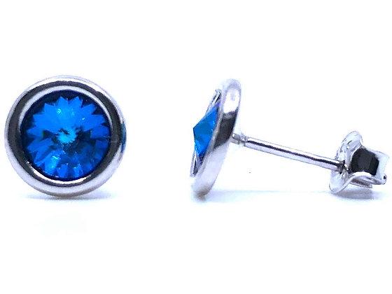 Pendientes Bermuda Blue