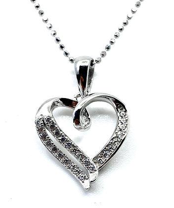 Collar Heart Cz