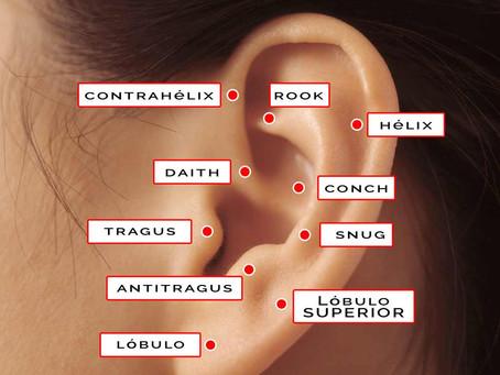 Tipos de pendientes y piercings para la oreja