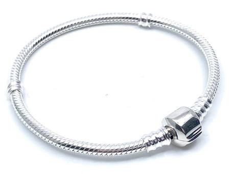 Pulseras de plata tipo Pandora más baratas
