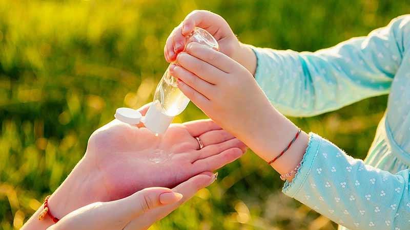 gel desinfectante manos