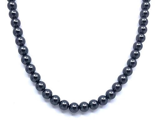 Collar Perlas negras