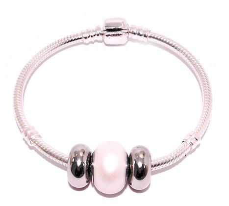 Pulsera White Pearl