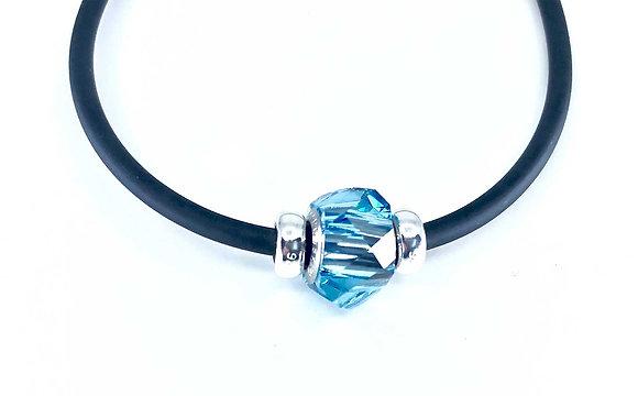 Collar Aquamarine 925