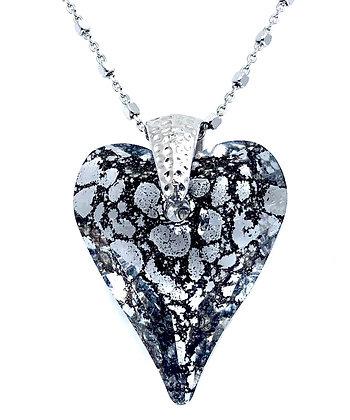 Collar Heart Patina