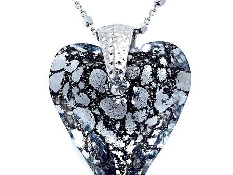 Collar de plata y cristal de Swarovski