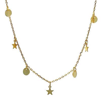 Gargantilla Estrellas y Medallitas