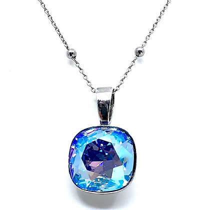 Collar Square Sapphire