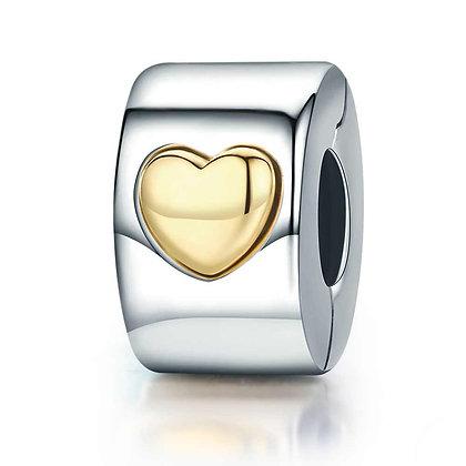 Stopper Gold Heart