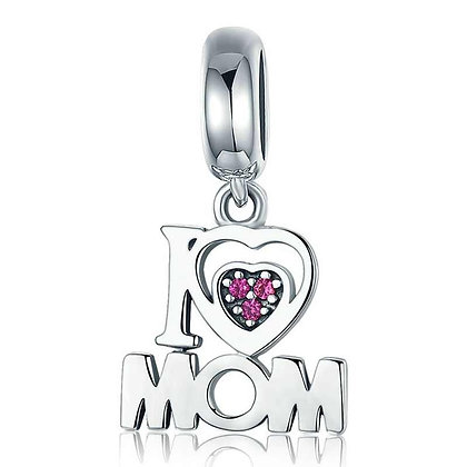 Charm Colgante Love Mom