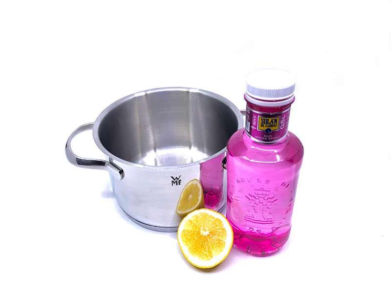 como limpiar plata con limón