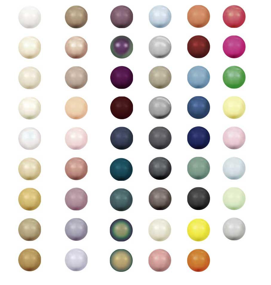 colores perlas swarovski