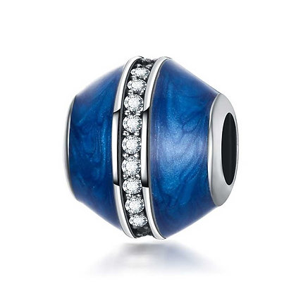 Charm Esmaltado Azul