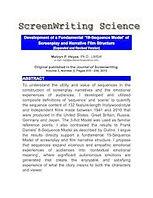 screen writing science screen play struc