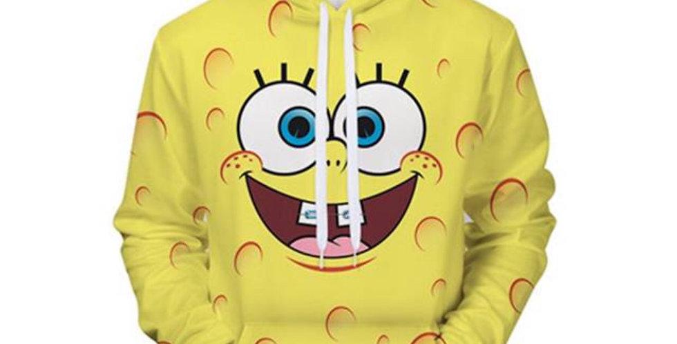 Sponge Bob Series 3D Unisex Hoodie