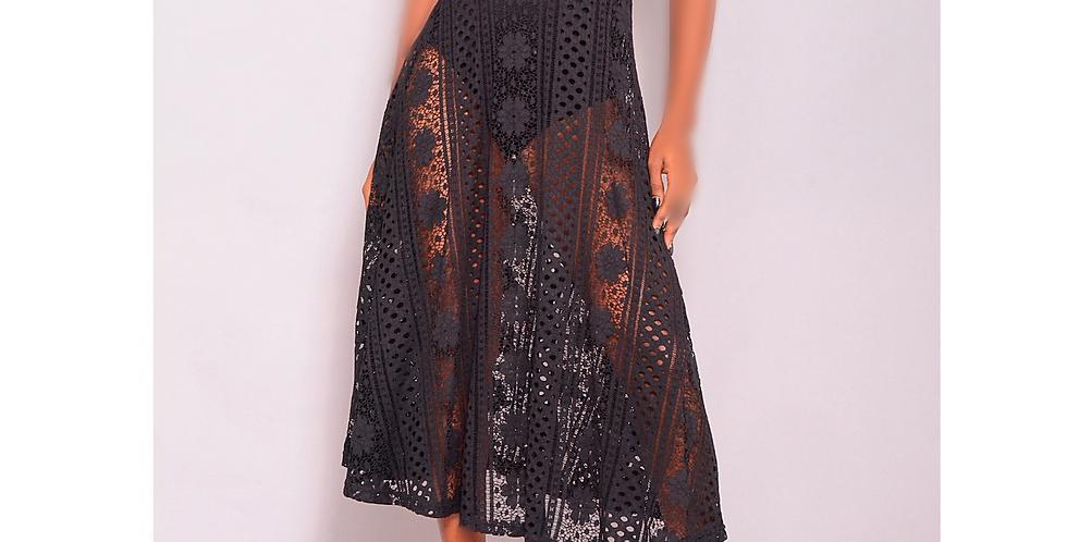 Gothic Girl Rock My World - Black dress