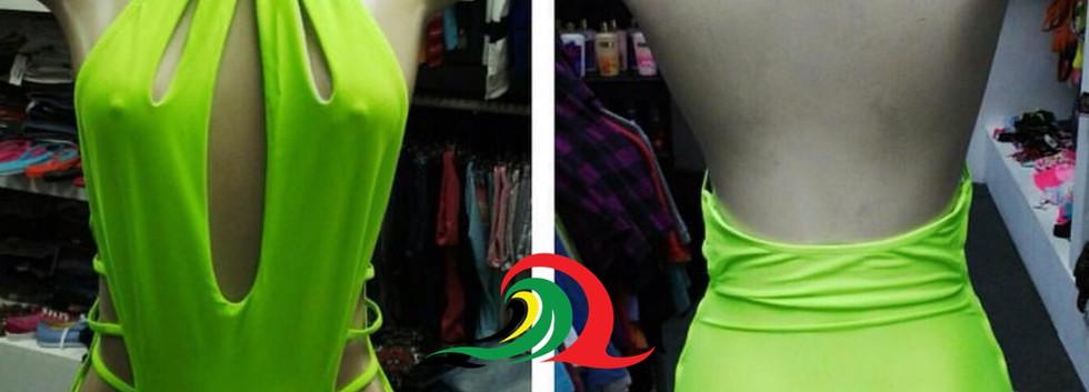 Green-cut-side-swimwear