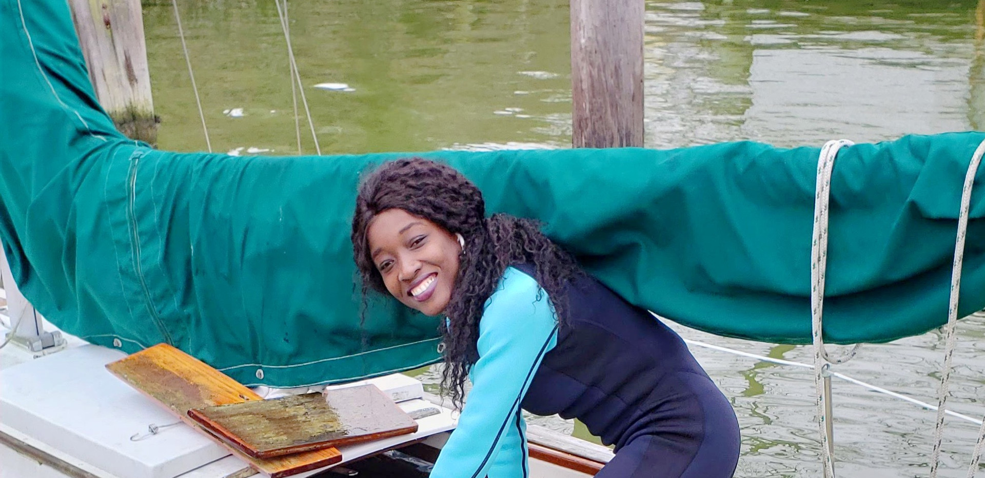 boat-female-worker-tools-electri