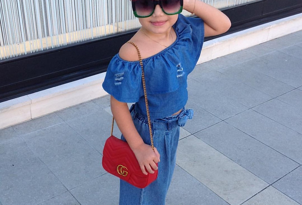Fashion women's oversize Gucci Retro Square Sunglasses