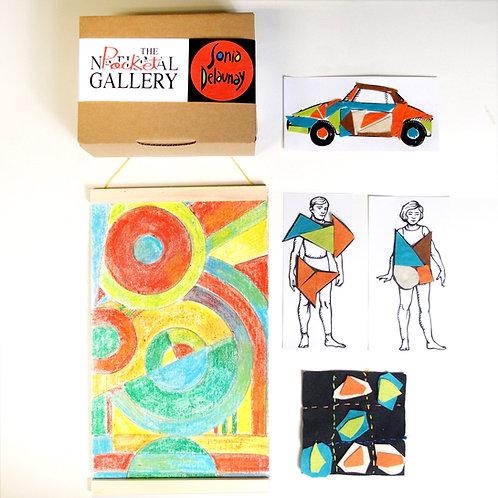 Kit SONIA DELAUNAY - The Pocket Gallery -