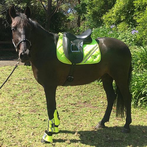Hi Vis Saddle Pad - Shezam Safety