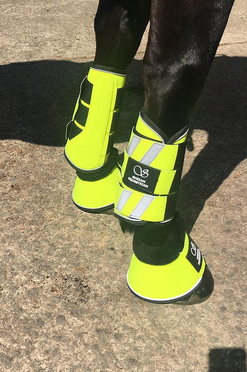 Shezam Safety - Reflective Brush Boots