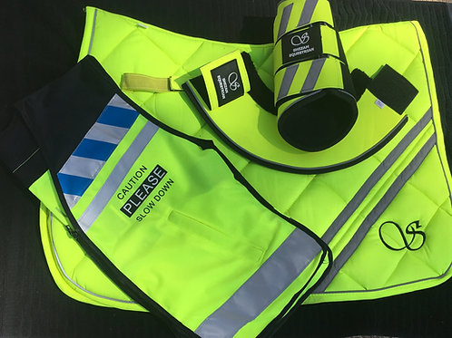 Shezam Safety Hi Visibility Trail Safety Sets