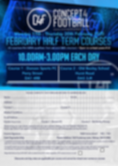 C4F February Half Term flyer Without Dat