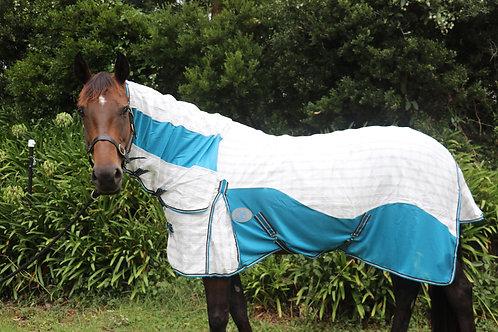 Diamond Weave Ripstop Cotton/Mesh Combo Horse Rug - Day Sheet