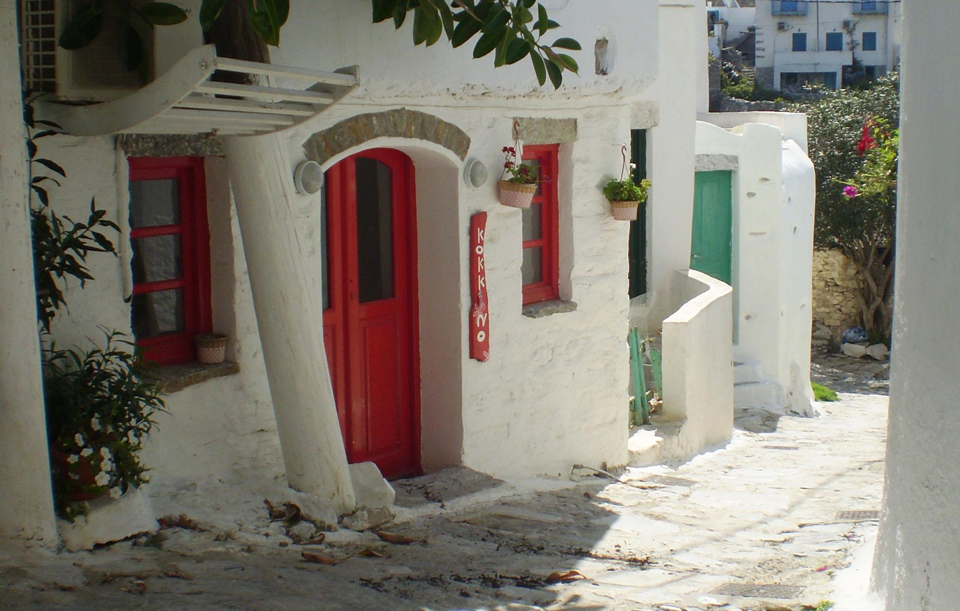 Amorgos Red Door