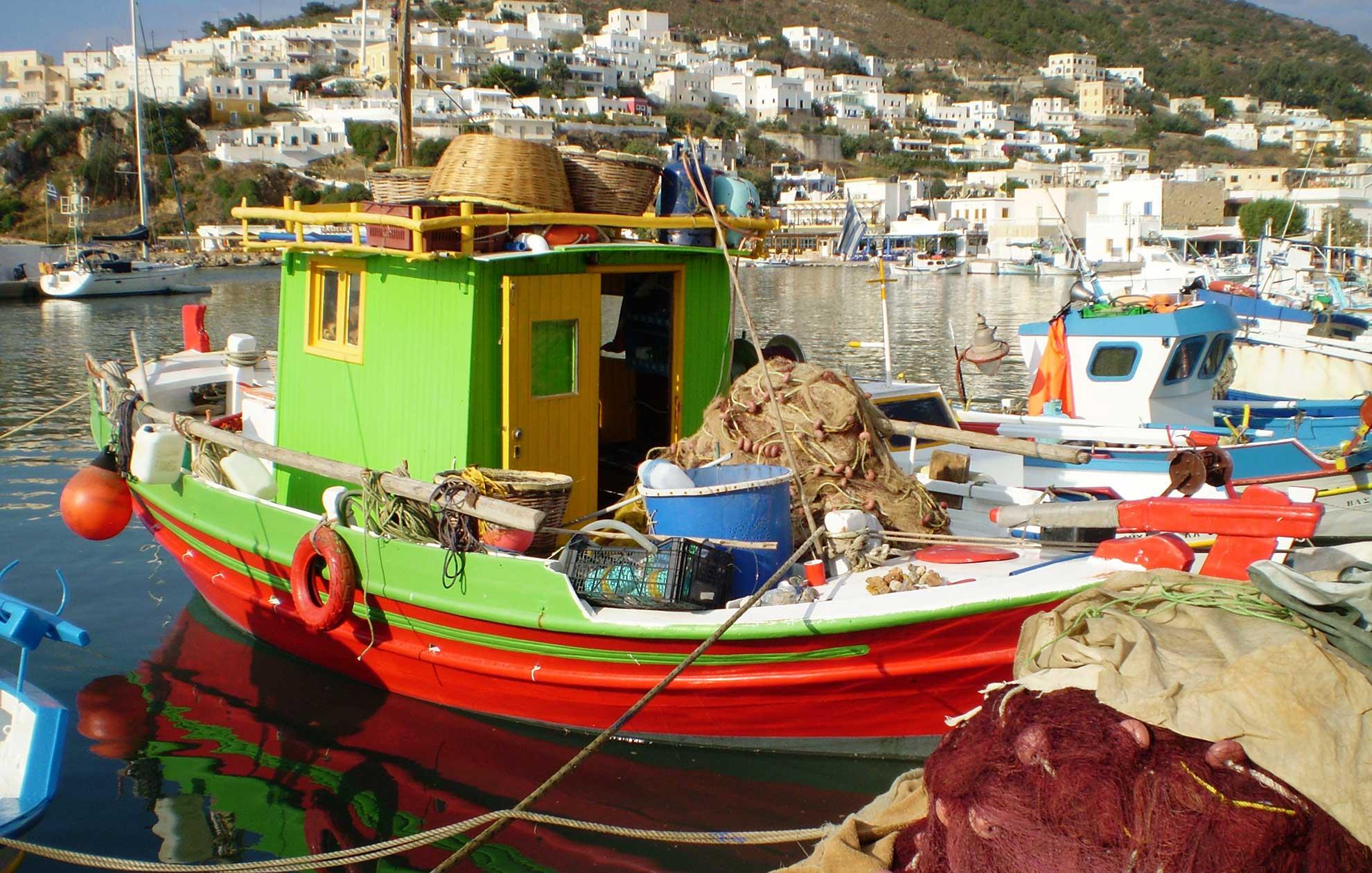 Leros Fishing Boats