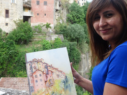 Painting the village