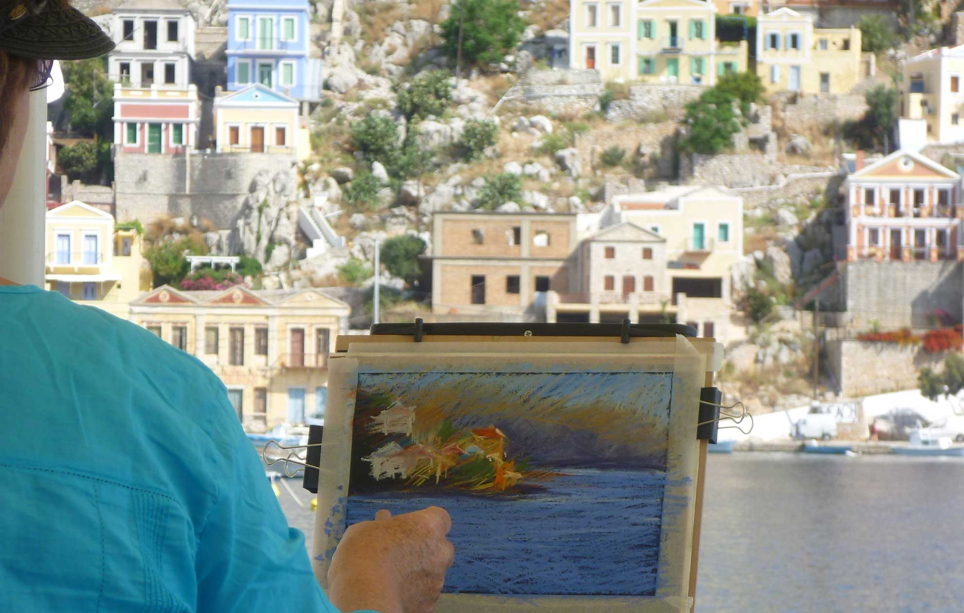 Painting in Greece
