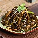 Sliced seaweed