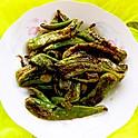 tigerskin-liked fried green-pepper 虎皮辣椒