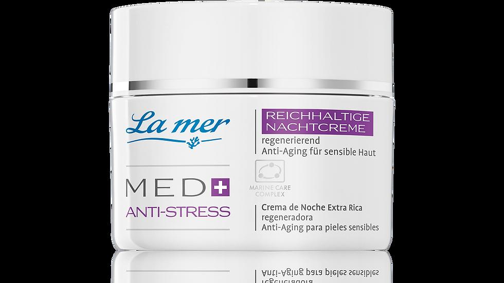 La mer Med + Anti-Stress reichhaltige Nachtcreme