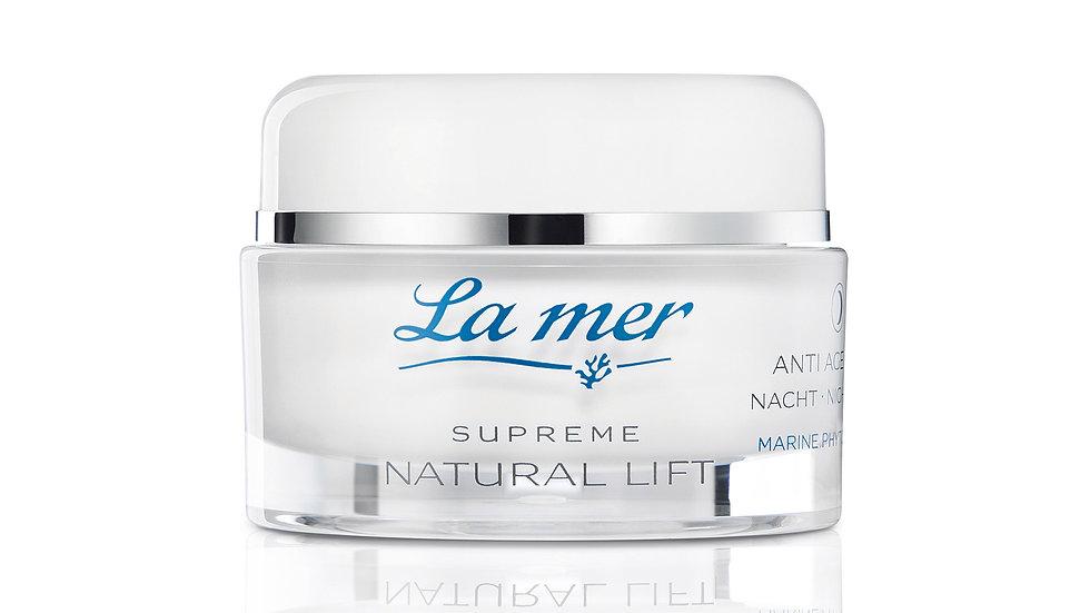 La mer Supreme Natural Lift Nachtcreme mit Parfüm