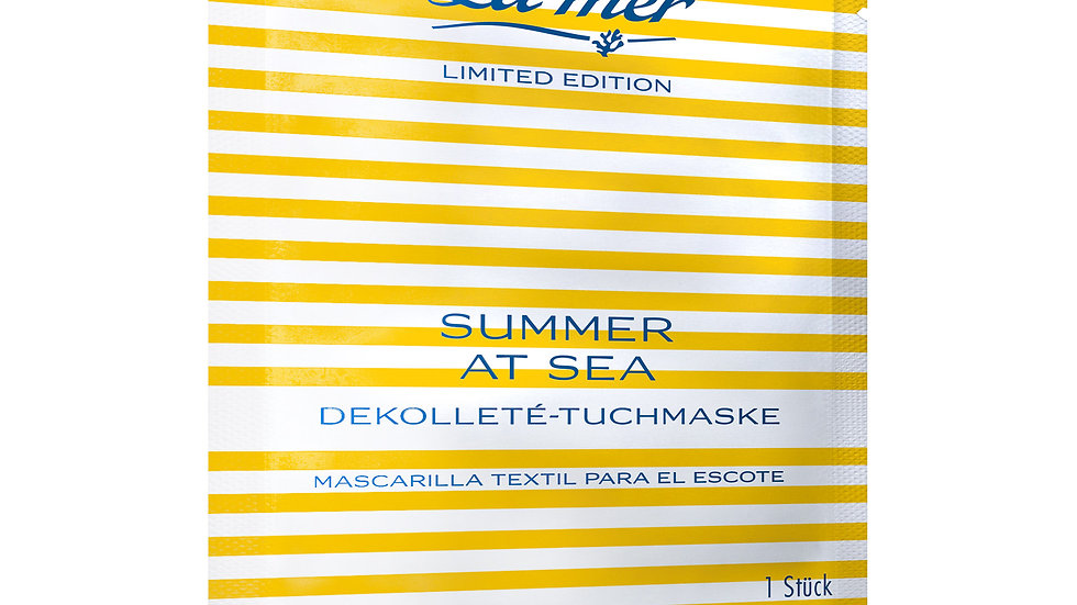 La mer Summer at Sea Dekollete-Tuchmaske