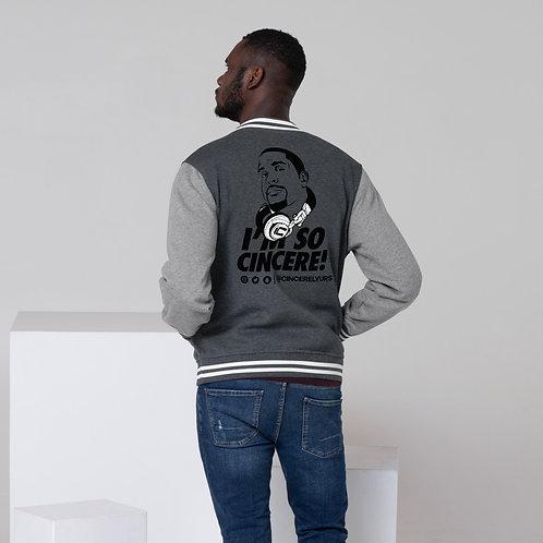 Men's ImSoCincere Letterman Jacket