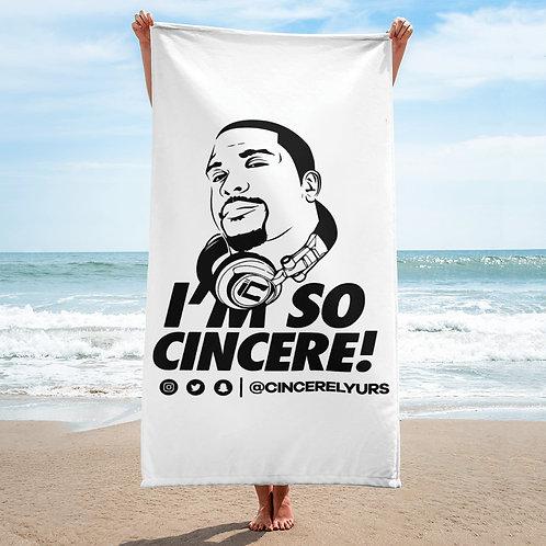 ImSoCincere Towel