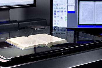 book on scanner