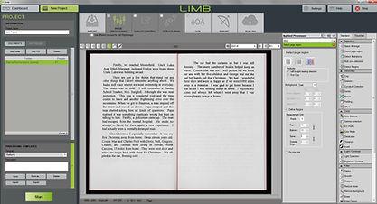 LIMB software screengrab