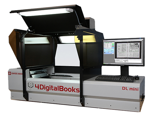 DL Mini Book Scanner by 4 Digital Books