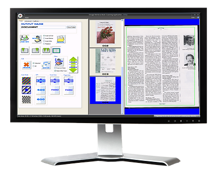 IIRISA software on monitor